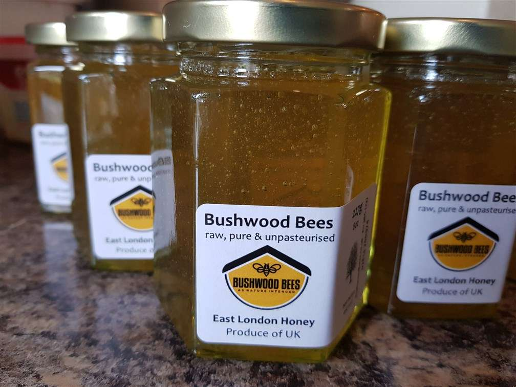 Raw Local East London Honey
