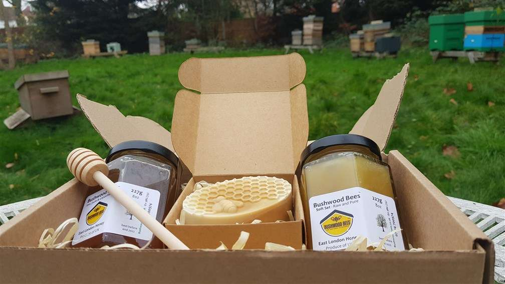 Gift Box - Honey and Soap